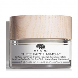 Origins Three Part Harmony™ Day & Night Eye Cream Duo For Renewal, Repair And Radiance New 15ml