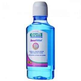 GUM Sensivital Mouthrinse, Στοματικό Διάλυμα για Ευαίσθητα Δόντια/Ούλα Χωρίς Αλκοόλ 300ml