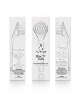 Youth Lab Beauty Tool All Skin Types Βουρτσάκι Καθαρισμού & Απολέπισης Προσώπου, για Ορατή Ανανέωση της Επιδερμίδας