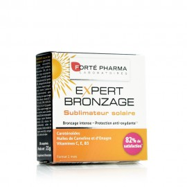 Forte Pharma Expert Bronzage, Γρήγορο Μαύρισμα, Ενυδατωμένο Δέρμα, 30caps