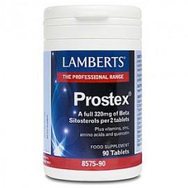 Lamberts PROSTEX 320mg ανά 2 ταμπλέτες, Για τον Προστάτη, 90 ταμπλέτες (8575-90) ΝΕΟΣ ΚΩΔΙΚΟΣ