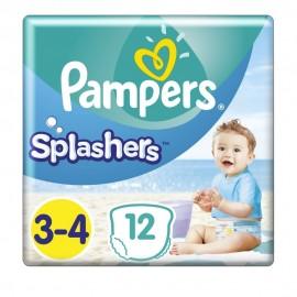 Pampers Splashers No 3-4 (6-11kg) 12τμχ