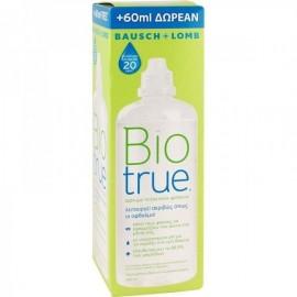 Bausch + Lomb BioTrue Υγρό Φακών Επαφής 300ml + 60ml ΔΩΡΟ