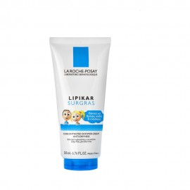 La Roche Posay Lipikar Surgras, Καθαριστικό Κρεμοντούζ Αναπλήρωση Λιπιδίων 200ml