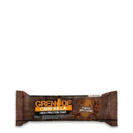 Grenade Carb Killa Μπάρες Υψηλής Πρωτεΐνης Fudge Brownie 60g