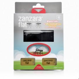 Vican Zanzara Flat, Εντομοαπωθητικό Βραχιόλι & 2 Εντομοαπωθητικές Πλακέτες M/L