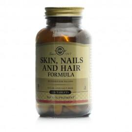 Solgar Skin, Nails & Hair Ολοκληρωμένη Φόρμουλα για Δέρμα, Νύχια & Μαλλιά 120 Tablets