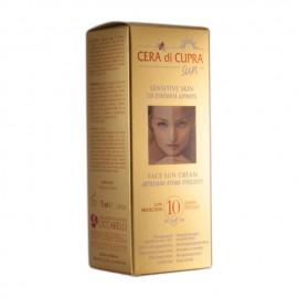 Cera Di Cupra Face Sun Cream for Sensitive Skin SPF10 Αντηλιακή Προσώπου 75ml