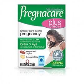 Vitabiotics Pregnacare Plus με Ωμέγα-3 Λιπαρά Οξέα 2x28Tabs