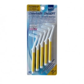 Intermed Chlorhexil Interdental Brushes Μεσοδόντια Βουρτσάκια SSS 0,7mm, 5 τμχ