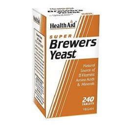 Health Aid Brewers Yeast, Μαγιά Μπύρας 240Tabs