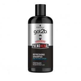 Got2B Phenomenal Shampoo Refreshing Hair & Beard 250ml