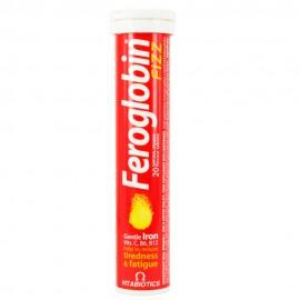 Vitabiotics Feroglobin Fizz, Συμπλήρωμα Σιδήρου 20 Αναβράζοντα Δισκία
