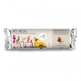 Power Health My Meal, Μπάρα Σοκολάτα-Φιστίκι Υποκατάστατο Γεύματος 56gr