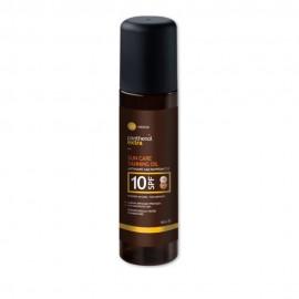 Panthenol Extra Sun Care Tanning Oil SPF10 Αντηλιακό Λάδι Μαυρίσματος Πρόσωπο/Σώμα 150ml