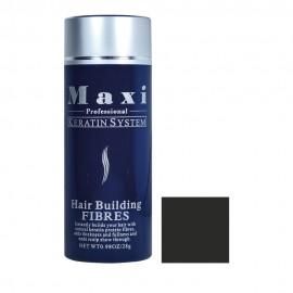 Yanni Maxi Fibres Νανοΐνες Κάλυψης Black 28gr