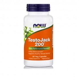 Now Foods TestoJack 200™ 60Veg Capsules