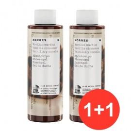 Korres Σετ Αφρολουτρο Βανιλια-Κανελα 1+1  250 ml