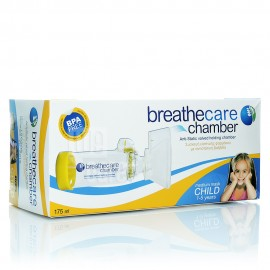 Asepta Breathecare Chamber Συσκευή Εισπνοής Φαρμάκου με Αντιστατική Βαλβίδα 1-5 Ετών