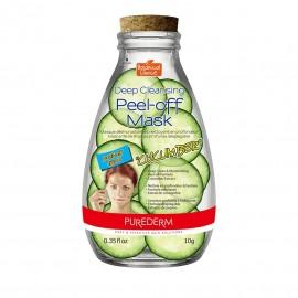 Purederm Deep Cleansing Peel-Off Mask Cucumber Ενυδατική Μάσκα Καθαρισμού 10gr