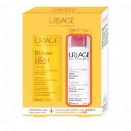 Uriage Bariesun Cream Very High Protection SPF50+ 50ml & ΔΩΡΟ Thermal Micellar Water Sensitive Skin 100ml