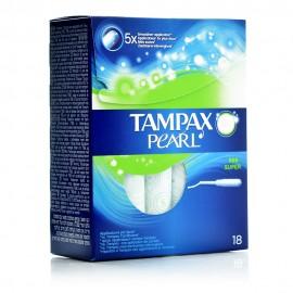 Tampax Pearl Super, Ταμπόν με Απλικατέρ Υψηλής Απορροφητικότητας , 18 Ταμπόν