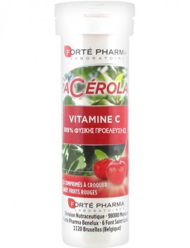 Forté Pharma Acerola Vitamin C 12 Μασώμενα Δισκία