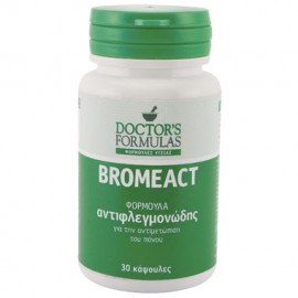 Doctor's Formulas Bromeact Φόρμουλα Αντιφλεγμονώδης, 30 Κάψουλες