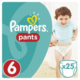 Pampers Pants No6 (16+kg) 25 τμχ