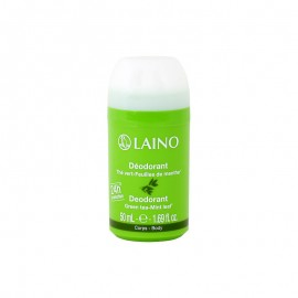 Laino Deodorant, Αποσμητικό Roll On Green Tea - Mint Leaf 50ml