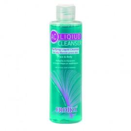 Froika Ac Liquid Cleanser, Απαλός Καθαρισμός με Εξυγιαντική Δράση Λιπαρό/Ακνεϊκό Δέρμα 200ml