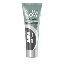 Aim White Now Smile Detox Mineral Clay Άμεση Λεύκανση  75ml
