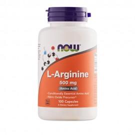 Now Foods L-Arginine 500mg 100Capsules