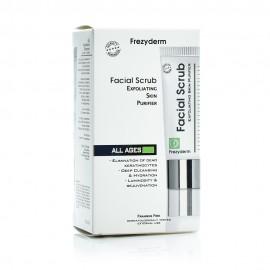 Frezyderm Facial Scrub Gel Απολέπισης Προσώπου, 100ml