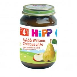Hipp Κρέμα Αχλάδι Williams Christ με Μήλο Βιολογικής Καλλιέργειας 190gr