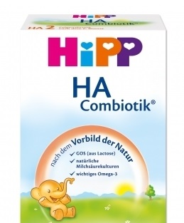 HiPP HA Combiotic από τη Γέννηση, Υποαλλεργικό Γάλα για Βρέφη 500gr
