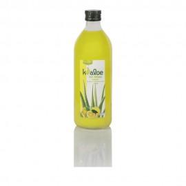 Kaloe Gel Φυσικός Χυμός Βιολογικής Αλόης με Λεμόνι  1Lt
