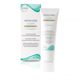 Synchroline Aknicare Cream Teinteé Claire Σμηγματορρυθμιστική Κρέμα Προσώπου με Χρώμα (Ανοιχτό) 50ml
