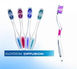 Elgydium Diffusion Hard, Οδοντόβουρτσα Σκληρή 1τεμ.