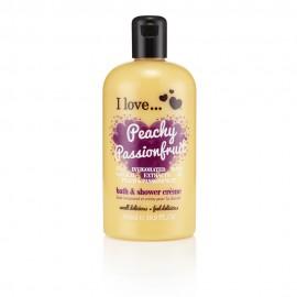 I love Bubble Bath & Shower Creme, Αφρόλουτρο Peachy Passion Fruit 500ml
