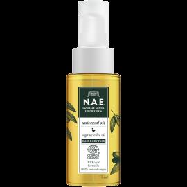 Ν.Α.Ε. Ξηρό Λάδι για μαλλιά-σώμα-πρόσωπο, Οργανική Πιστοποίηση COSMOS  & Vegan φόρμουλα, 75 ml