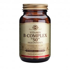 Solgar Formula B-Complex 50 , 100 Vegetable Capsules