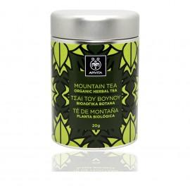 Apivita Organic Herbal Mountain Tea, Τσάι του Βουνού 20gr