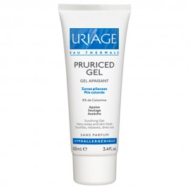 Uriage Pruriced Gel, Καταπραυντικό Τζελ Κατάλληλο για Τριχωτές Περιοχές-Πτυχώσεις του Δέρματος 100ml
