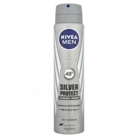 Nivea Men Silver Protect, Ανδρικό Αποσμητικό Σπρέι 150ml