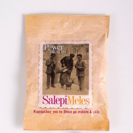Power Health Salepimeles, Καραμέλες για τον Βήχα από Σαλέπι & Μέλι 60gr