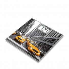 Beurer Ζυγος Δαπεδου Ψηφιακος Γυαλινος Beurer -Gs 203 New York- 150