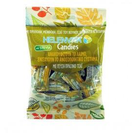 Helenvita Candies, Καραμέλες για τον Λαιμό με Γεύση Πράσινο Τσάι 20τμχ