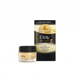 Olay Total Effects 7 in One, Eye Transforming Cream, Ενυδατική Κρέμα Ματιών 15ml