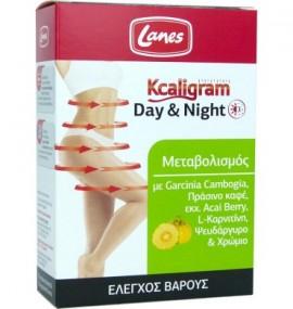 Lanes Kcaligram Day&Night, Συμπλήρωμα Διατροφής για το Αδυνάτισμα 60tabs